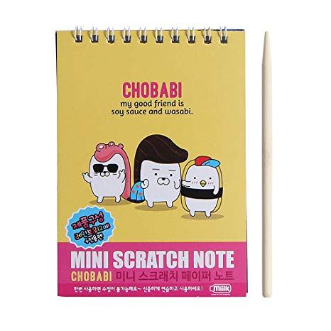 Zjl220 Kids Scratch Card Coil Book Niños Diy Manual Para Colorear