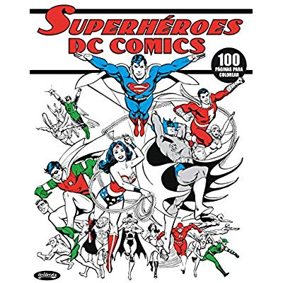 Free Dc Comics Superheroes  Libro Para Colorear Pdf Download