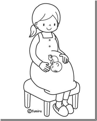 Dibujos Mamas Embarazadas