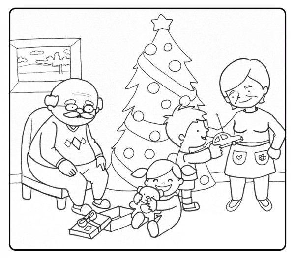 Resultado De Imagen Para Dibujo Para Colorear De Navidad En