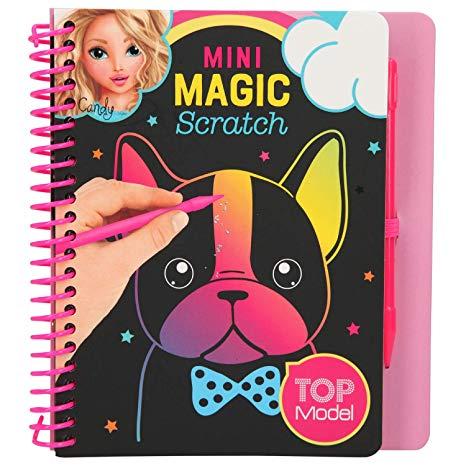 Depesche 10708 Mini Magic Scratch Book