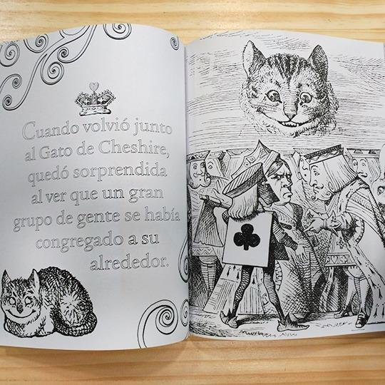 Alicia En El País De Las Maravillas  Un Libro Para Colorear
