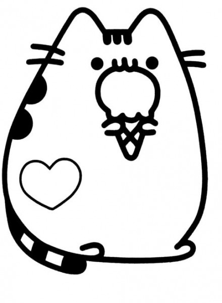 Pusheen Pizza Cat
