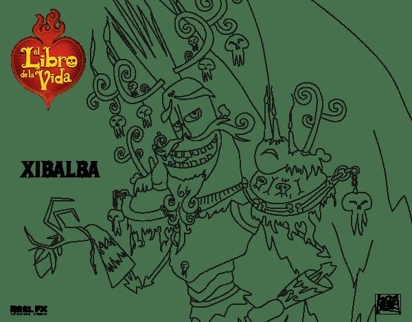 Dibujo De Xibalba Para Colorear