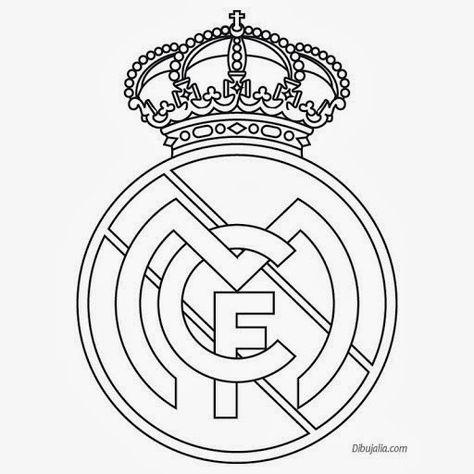 Plantilla Del Escudo Del Real Madrid