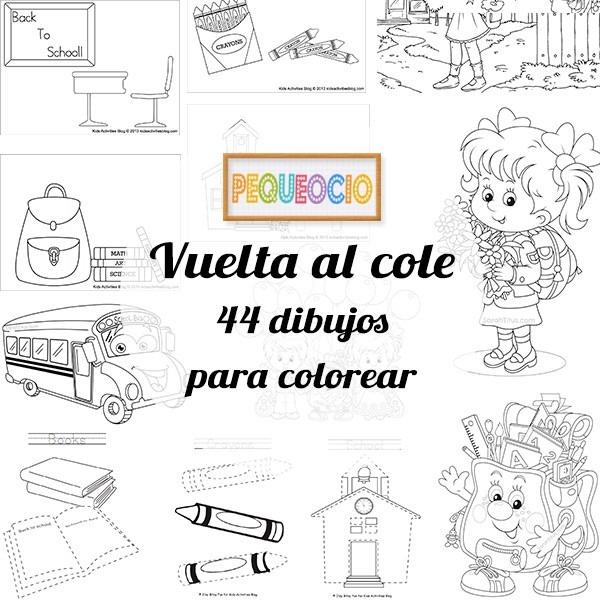 44 Dibujos Para Colorear Â¡vuelta Al Cole!