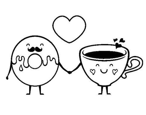 Dibujos Bonitos De Amor ∼ Dibujos Románticos Para Pintar En 2019