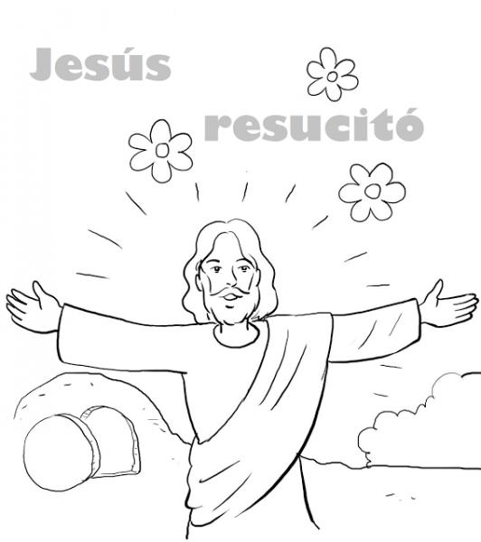 Resultado De Imagen Para Jesus Resucitado Dibujo