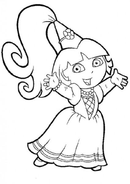 Tags  Colorear Dibujos Dora Exploradora Dibujos Para Colorear Dora