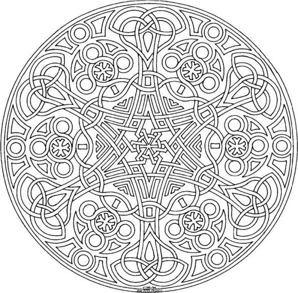 Mandalas Celtas 32 Mandalas Para Colorear Y Relajarse