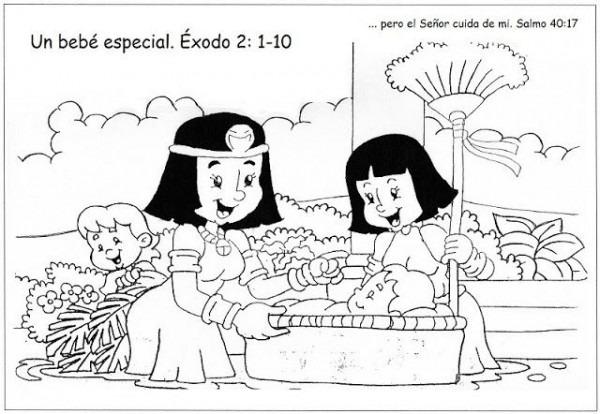 Laminas De La Biblia Para Colorear ,imprimir Y Recortar   Historia
