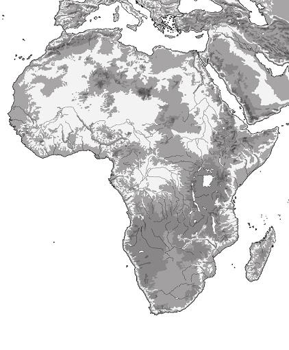 El Blog De Nito Y Sito  Mapas De África