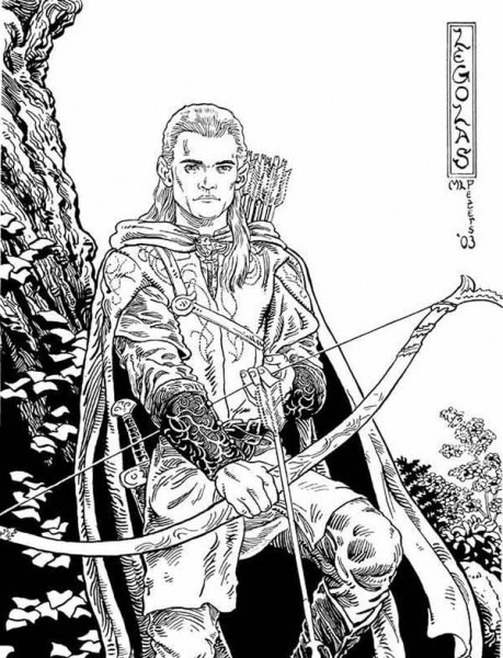 The Lord Of The Rings,   Awesome Picture Of Legolas In The Lord Of