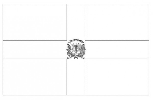 Participar Da Política  Bandera De La República Dominicana Para