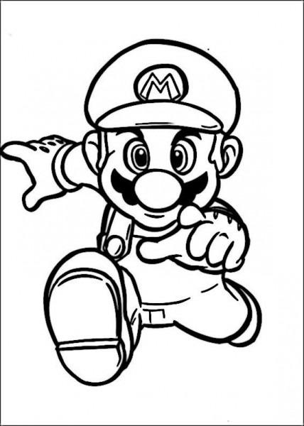Dibujos Para Colorear Mario Bross 32
