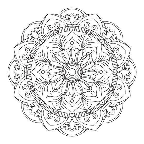 Mandalas De Flores Para Imprimir Pdf Gratis