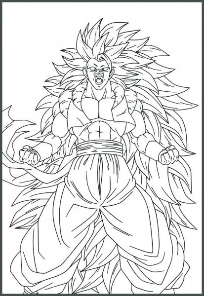 Imagenes Para Dibujar Dragon Ball Super Broly