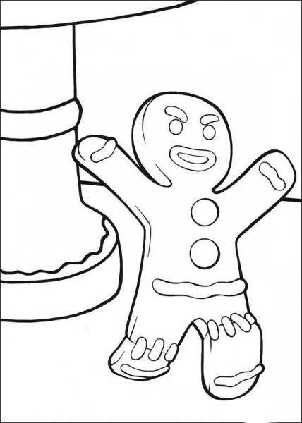 Dibujos Para Colorear Shrek 32