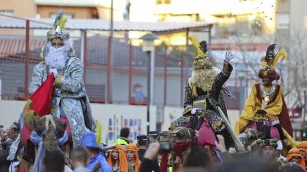 Cabalgata De Reyes En Los Distritos De Málaga Capital Málaga, De