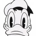Pato Donald Dibujos Para Colorear