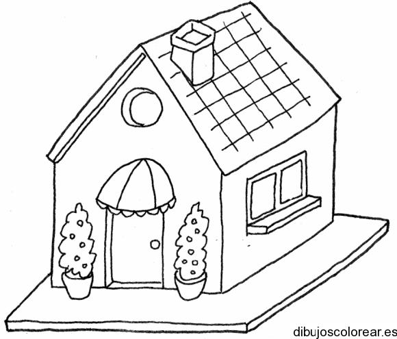 Dibujo De Una Casa De Muñecas
