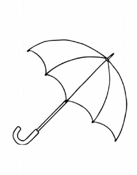 Colorear Tus Dibujos  Dibujos Para Colorear De Paraguas Y Sombrillas