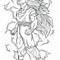 Juegos Colorear A Goku