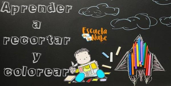 Fichas De Infantil Para Colorear Y Recortar