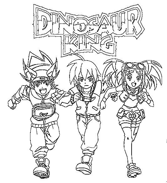 Dibujos Para Colorear Dinosaur King