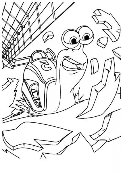 Dibujos De Turbo Para Imprimir Y Dibujar Dibujos De Dreamworks Y