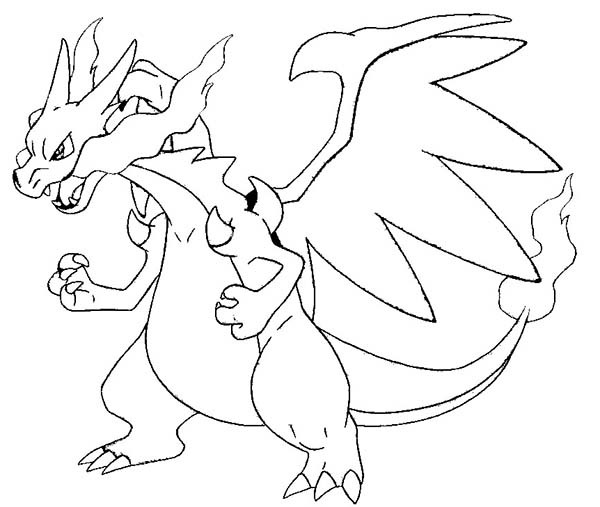 Creative Pokemon Coloring Pages Charizard  521 Pokemon Coloring