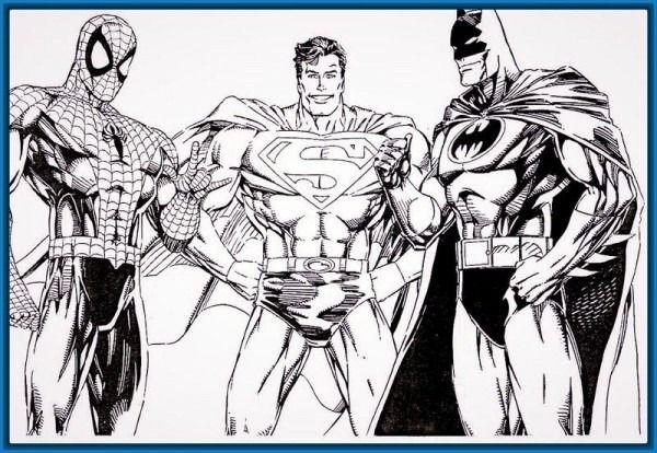 Dibujos Para Colorear Mutant Busters