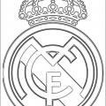 El Escudo Del Real Madrid Para Colorear