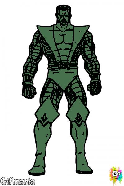 Colossus  Colossus  Xmen  Coloringpage