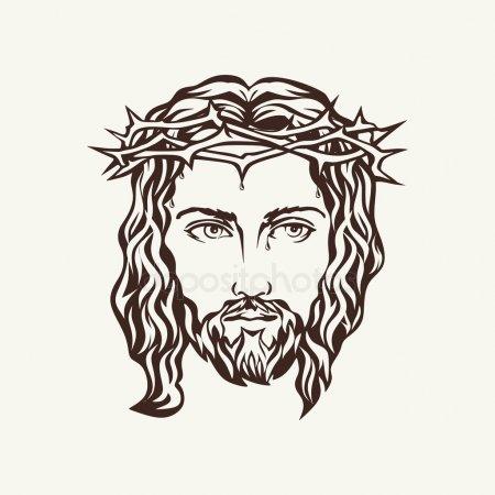 ᐈ Rostro De Jesus Para Dibujar Imágenes De Stock, Fotos Jesus