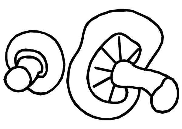 Dibujo Para Colorear Champiñones