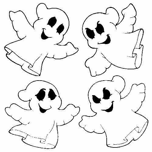 Dibujos De Fantasmas Para Colorear