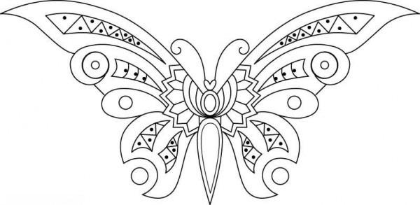 15 Imágenes De Mariposas Para Colorear