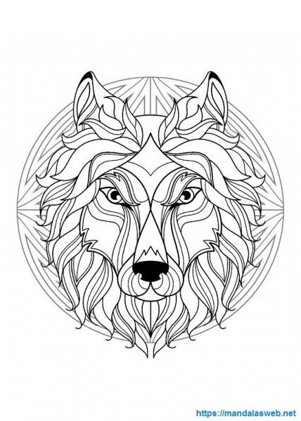 ▷ Mandalas De Animales Para Colorear E Imprimir Gratis 🥇 Pdf