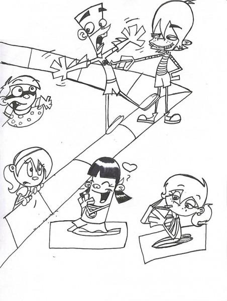 Dibujos De Fanboy Y Chum Chum Para Colorear E Imprimir