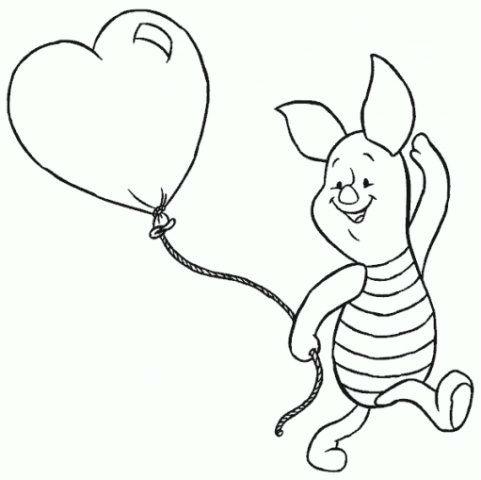Dibujos Para Colorear De Winnie Pooh Para Imprimir (6)