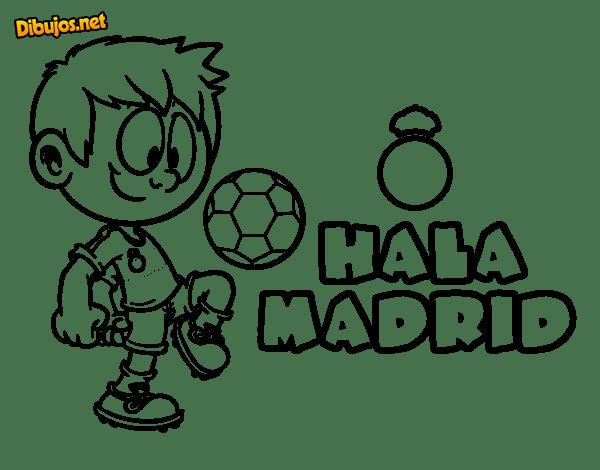Real Madrid Dibujo