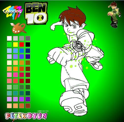 Dibujos Para Pintar Online De Ben 10 (ii)
