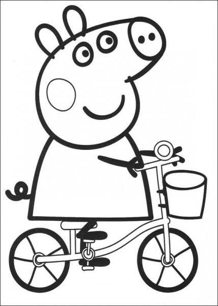 Imprimir Dibujos Para Colorear Peppa Pig