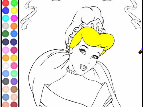 Dibujos Para Colorear En El Ordenador De Disney
