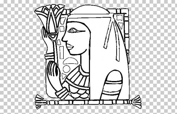 Dibujo Para Colorear En El Antiguo Egipto Egipto, Escarabajo