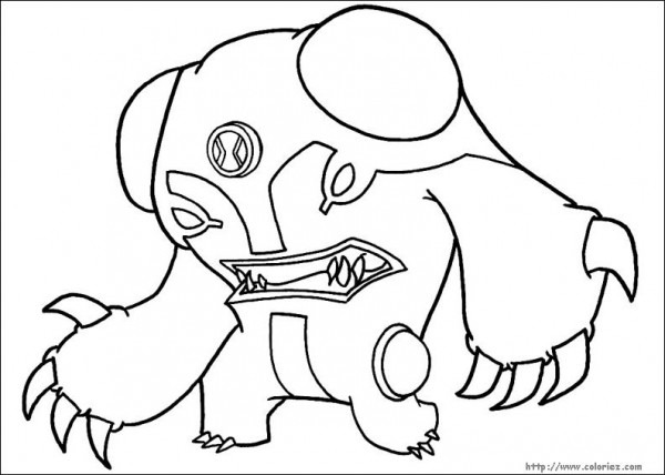 Ben 10  110 (cartoons) – Printable Coloring Pages