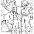 Colorear Dibujos De Dragon Ball Z
