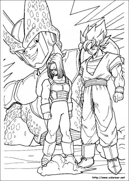 Dragon Ball Z  20 (dibujos Animados) – Páginas Para Colorear