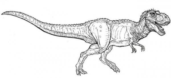 Jurassic Park  23 (películas) – Páginas Para Colorear